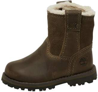 Timberland Infant Chestnut Ridge Warm Lined Pull On Boots Brindle