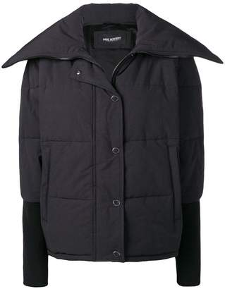 Neil Barrett fold collar padded jacket