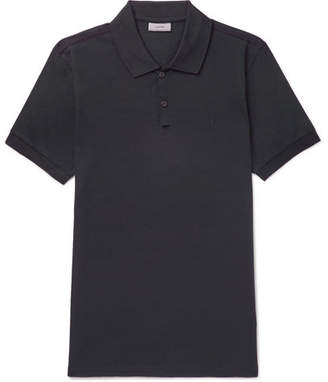 Lanvin Slim-Fit Cotton-Piqué Polo Shirt