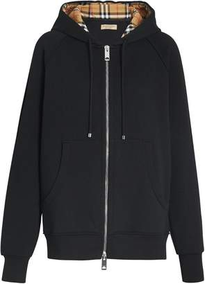 Burberry hooded sweatshirt