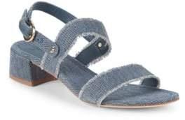 Joie Rach Denim Slingback Sandals