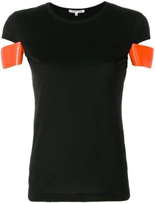 Helmut Lang contrast sleeve T-shirt