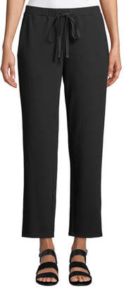 Eileen Fisher Travel Ponte Ankle Pants, Plus Size