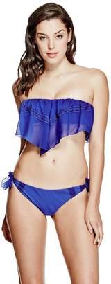 GUESS Women's Handkerchief Side-Tie Bikini Bottoms