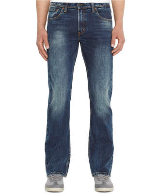 Levi's 527 Slim-Fit Black Stone Bootcut Jeans