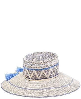 Eric Javits Palermo Squishee Patterned Sun Hat