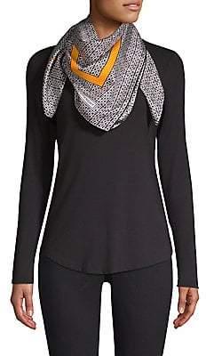 Givenchy Women's Foulard Vintage Silk Scarf