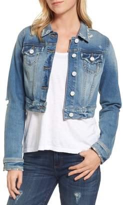 SLINK Jeans Crop Denim Jacket