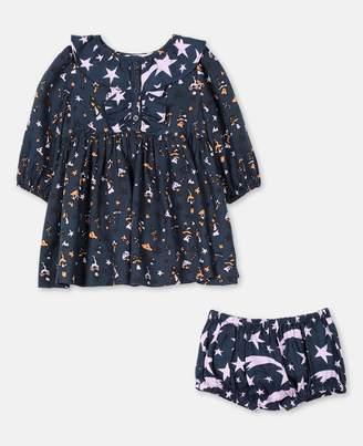 Stella McCartney Stars Viscose Twill Dress, Unisex