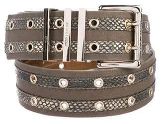 MICHAEL Michael Kors Embellished Waist Belt