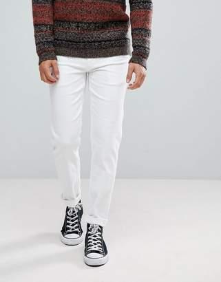 Asos Stretch Slim Jeans In White