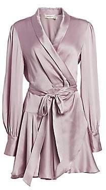 Zimmermann Women's Silk Wrap Dress