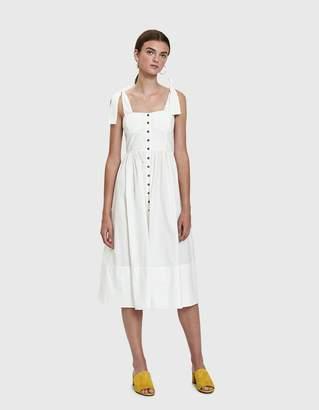Stelen Aanya Bodice Dress in White