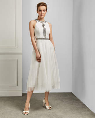 Ted Baker REAGANE Embellished bodice tutu dress