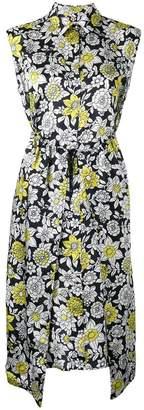Christian Wijnants sleeveless floral print dress