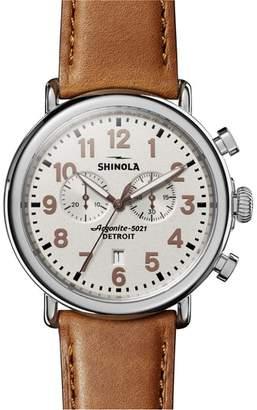 Shinola The Runwell - Statue of Liberty Chronograph Watch, 47mm