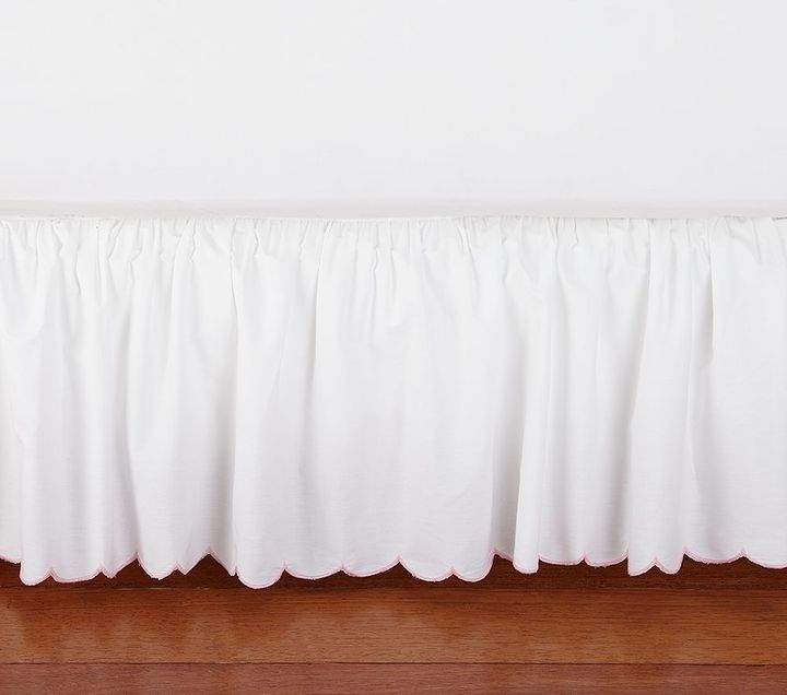 Pottery Barn Kids Scallop Bed Skirt