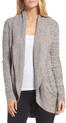 Women's Barefoot Dreams Cozychic Lite Circle Cardigan $116 thestylecure.com