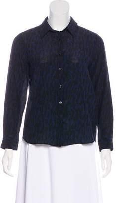 Belstaff Silk Button-Up Top