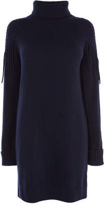 Karen Millen Roll Neck Jumper Dress