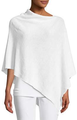 Eileen Fisher Linen Knit Poncho
