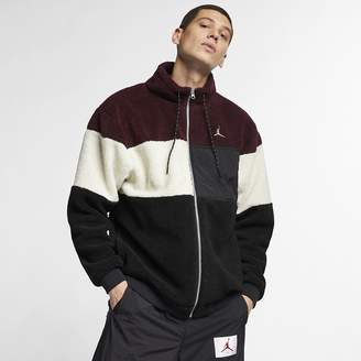 Jordan Men's Full-Zip Jacket Sportswear Sherpa