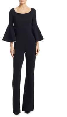 Chiara Boni Bell-Sleeve Jumpsuit
