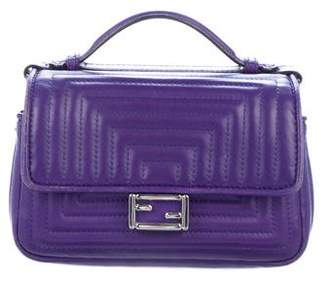 Fendi Micro Double Baguette Crossbody Bag