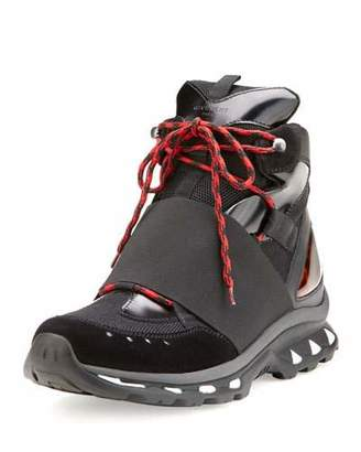Givenchy Hiking Boot Trainer Sneaker, Black $1,090 thestylecure.com