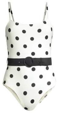 The Nina Belted Swimsuit