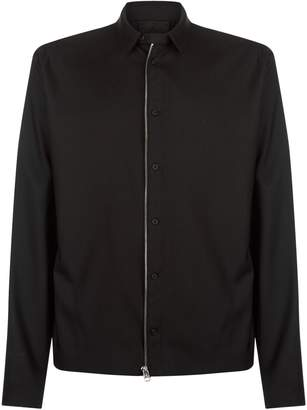 Helmut Lang Zip-Up Double Layer Jacket
