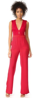 Diane von Furstenberg Kyara Tux Jumpsuit $548 thestylecure.com