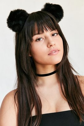 Pompom Ear Headband $16 thestylecure.com