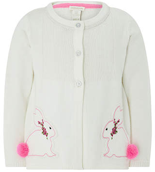 Monsoon Baby Belle Bunny Cardigan