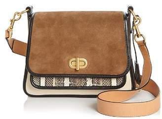 Tory Burch Bennett Leather & Suede Crossbody