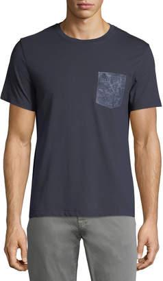 Original Penguin Penguin Men's Short-Sleeve Floral-Pocket T-Shirt