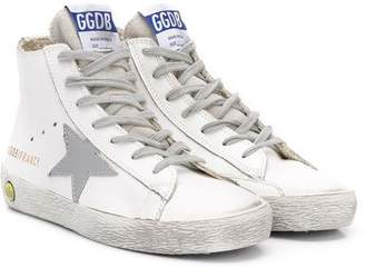 Golden Goose Kids hi top lace up sneakers