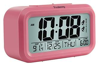 Peakeep Digital Alarm Clock with 2 Alarms for Weekdays