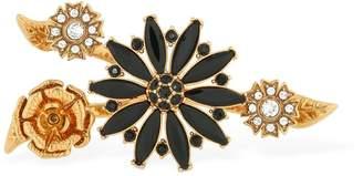 Versace Floral Garden Double Ring