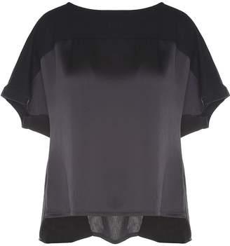 Y-3 Y 3 Logo-print Mesh And Cotton T-shirt