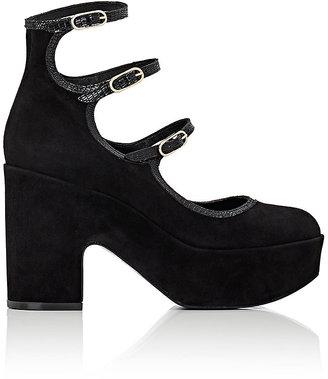 Robert Clergerie Women's Vildo Mary Jane Platform Pumps-BLACK $479 thestylecure.com