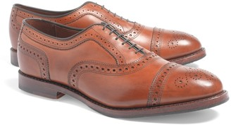 Brooks Brothers Medallion Perforated Captoes