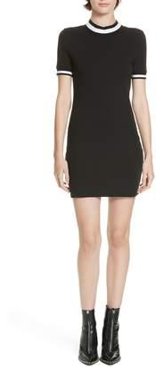Alexander Wang alexanderwang.t Stripe Jersey Dress