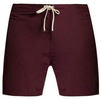 Saturdays NYC Colin Solid Swim Shorts - Mens - Dark Purple