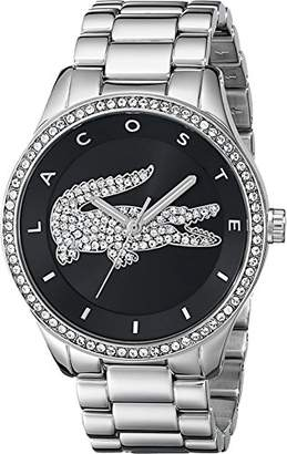 Lacoste Women's 2000868 Victoria Silver-Tone Stainless Steel Watch