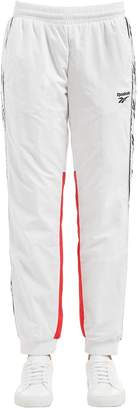 Two Tone Track Pants W/ Logo Side Bands