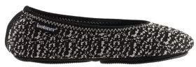 Isotoner Portable Paris Knit Ballerina Slippers