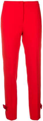 Blumarine high-waisted cropped trousers