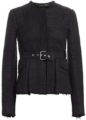 Proenza Schouler Belted Tweed Jacket