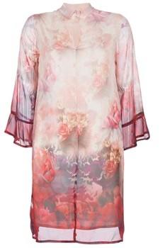 Cream ZERDOK women's Dress in Pink